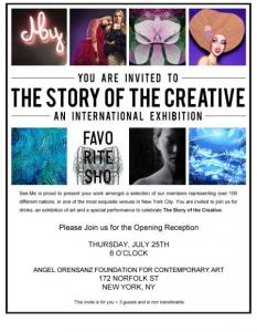 Photographer Anita Kovacevic Exhibited At The Story Of The Creative In NY In The USA